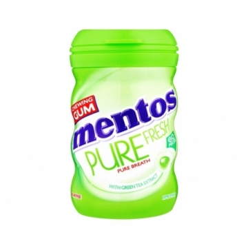 MENTOS PURE FRESH PB LIME MINT 29G
