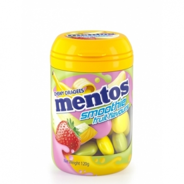 MENTOS BOTTOL SMOOTHIE 120G
