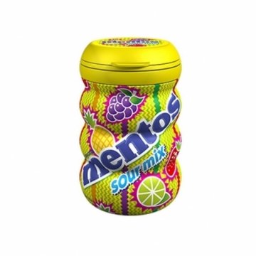 MENTOS BOTTOL SOUR MIX 120G
