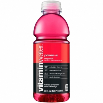 GLACEAU VITAMIN WATER POWER C (DRAGON FRUIT)
