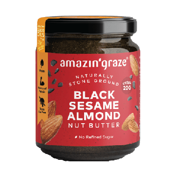 AMAZING GRACE BLACK SESAME ALMOND BUTTER 200G