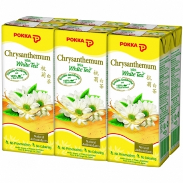 CHRYSANTHEMUM WHITE TEA 250ML X 6