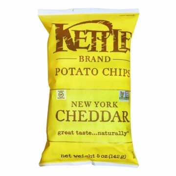 KETTLE CHIPS NEW YORK CHEESE 142G