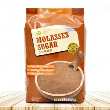 EA NATURAL MOLASSES SUGAR 900G