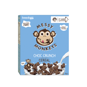 MESSY MONKEYS Choc Crunch...