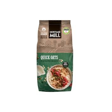 HERTAGE MILL Quick Oats 1kg