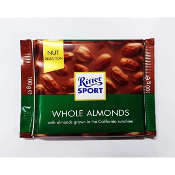 RITTER SPORT Whole Almonds...