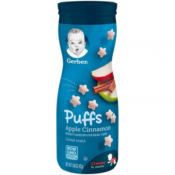 GERBER Puffs Apple Cinnamon...