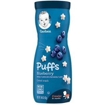 GERBER Puffs Blueberry 42G