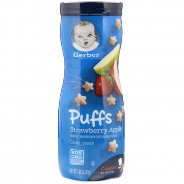 GERBER Puffs Strawberry...