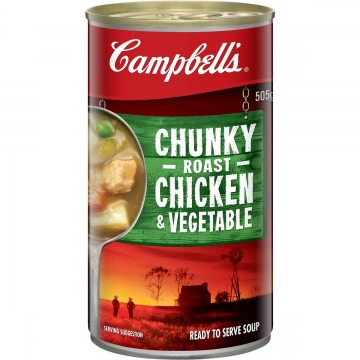 CAMPBELLS CHUNKY SOUPS...
