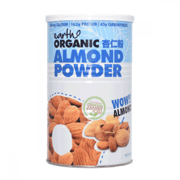 EARTH ORGANIC ALMOND POWDER...