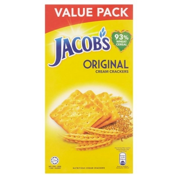 JACOB'S VALUE PACK CREAM...