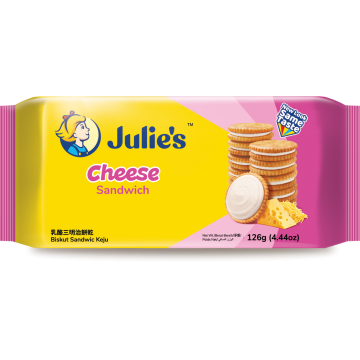 JULIE'S CHEESE SANDWICH 126G
