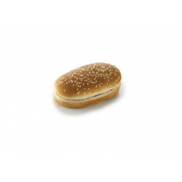 BURGER BUN OBLONG SEEDED