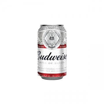BUDWEISER 355ML/CAN
