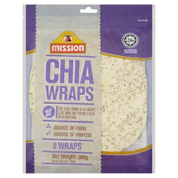 MISSION CHIA WRAPS