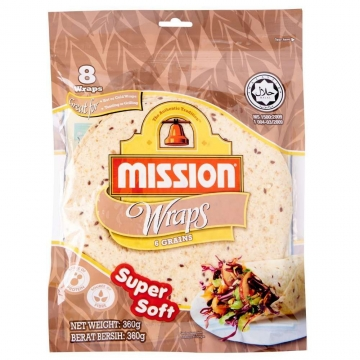 MISSION WRAPS 6 GRAINS